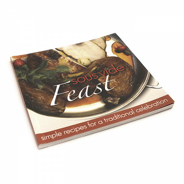 Книга рецептов Sous Vide Feast Cookbook