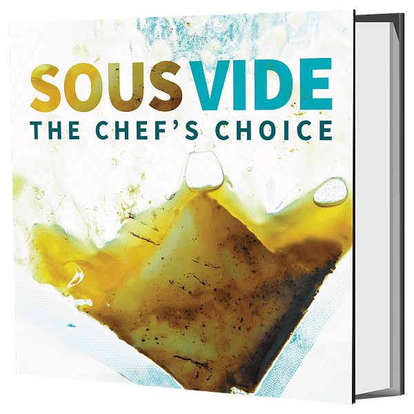 Книга рецептов Sous Vide The Chef's Choice Recipe Book